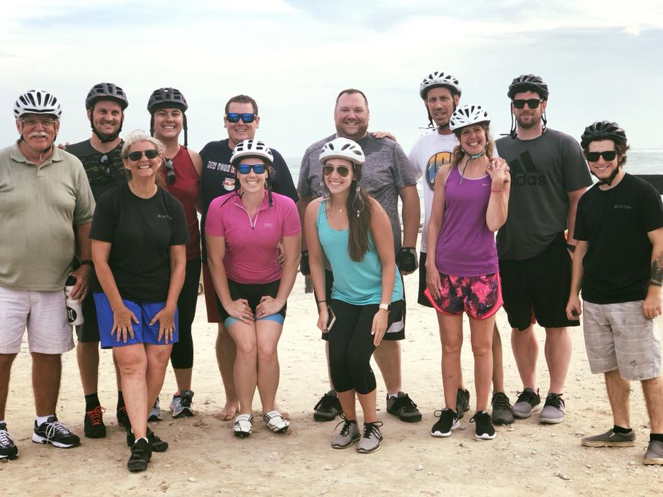 group ride photo